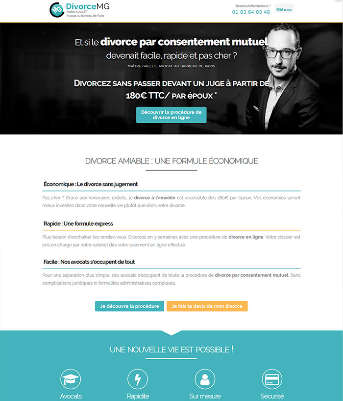 Site de divorce amiable